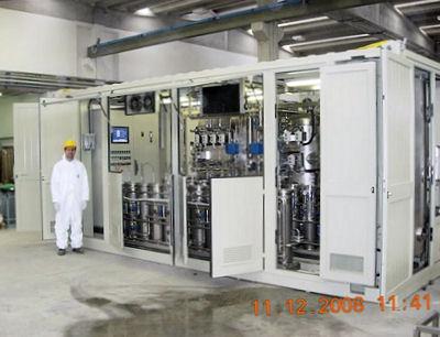 Impianto di trattamento olio e trasformatori venduto nel 2009 e attualmente operativo in Brasile