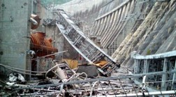 Disaster in Russian power plant