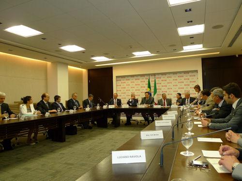 Ministro Clini in Brasile