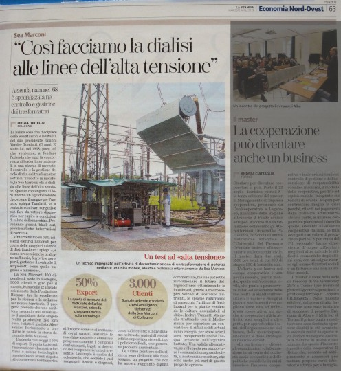imprese d'eccellenza su La Stampa