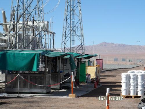 Depolarizzazione da solfo corrosivo in Cile