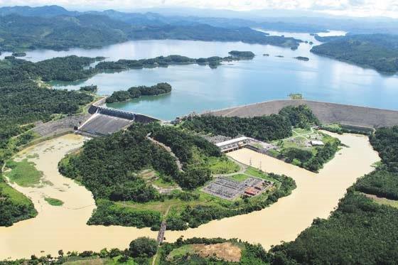 Parco nazionale centrale idroelettrica Urrá Colombia