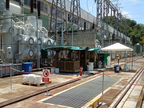 Trattamento di depolarizzazione presso centrale idroelettrica Urrá Colombia