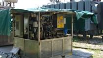 Riempimento del trasformatore con olio/servizi